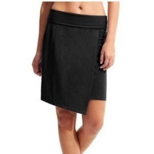 Athleta Seaside Fold Over Waist Faux Wrap Skirt